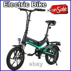 16Inch Folding Electric Bike Bicycle E-Bike 250W 36V 7.5Ah Rechargeable Battery