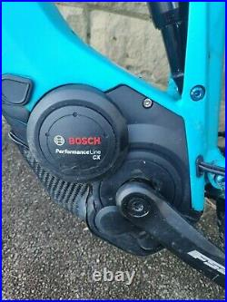 2019 Cube Stereo Hybrid 120 e-mountain bike, e-bike, Blue, Bosch CX 250W Motor