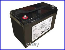 2 x 12V 100AH LITHIUM ION Deep Cycle Leisure Battery Motorhome Caravan M Mover