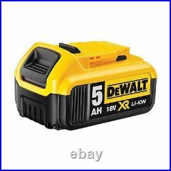 2 x Dewalt DCB184 18V XR li-ion Battery 5Ah Genuine UK Stock