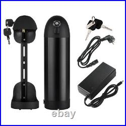 36V10Ah (370Wh) Lithium-ion Electric Bicycle E-Bike Bottle Black Battery