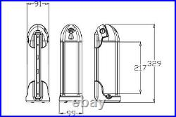 36V10Ah E-bike Pedelec Lithium-ion Battery Bottle Battery Frame Battery Black