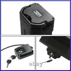36V10Ah Electric Bike Lithium-ion Seat Tube Battery for Folding Bike 200W-500W
