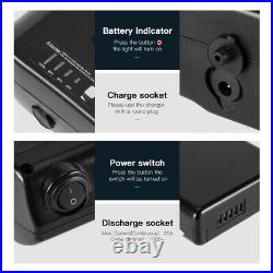 36V10.4Ah Lithium-ion Battery Electric E-bike Battery for Mifa, Ansmann