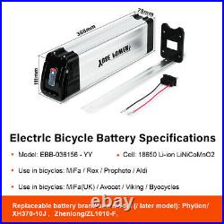 36V15Ah Electric Bike E-bike Lithium-ion Battery Lockable with USB Charging