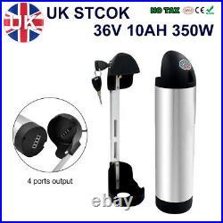 36V 10AH 200W 250W 350W Bottle Lithium Li-Ion E-bike Electric Bicycle Battery UK