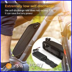 36V 10Ah 500W Downtube Lithium Li-ion Battery E-Bike Electric Bicycle Motor lot