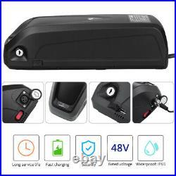 36V/48V 10/13/15AH E-Bike Battery Li-ion Power Pack Lockable with USB Charging