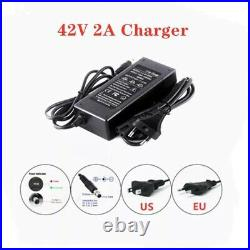 36V Ebike Battery Pack 30Ah Li-ion Motorcycle Scooter E-bike 500W With Charger