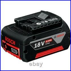 3 X Bosch 18v 5Ah Li-ion Coolpack Batteries Lithium Ion Cordless 5.0ah Cool Pack