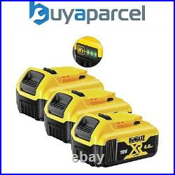3 x DeWalt DCB182 18v 4.0Ah Li-Ion Battery XR Range Lithium Ion Genuine 4amp UK