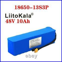 48V 10Ah Li-ion Battery Lithium withBMS Electric Bike E-Bike Scooter UK/EU Charger