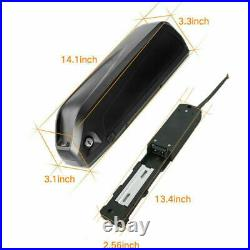 48V 13Ah 1000W Hailong3 Downtube Electric Bicycle Lithium Battery Pack+Charger