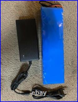48v lithium ion battery 48v 58Ah 1000w Battery Pack For 54.6v E-bike & charger