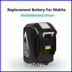 4X For Makita 18V 6.0Ah Lithium Ion LXT Battery BL1860 BL1850 BL1845 BL1840 UK