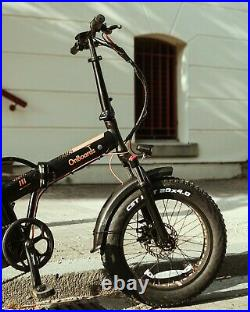 500w 48v 17.5ah Samsung Battery Fat Wheels II Electric Bike / E-moped Bicycle