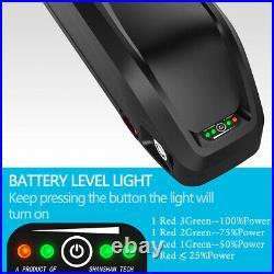 52V 13AH Hailong Li-Ion Battery for 750W 1000W Electric Bicycle Ebike Downtube