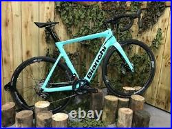 Bianchi Aria E-Road Ultegra Electric Road Bike 57cm Frame Free Delivery