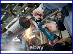 Bosch 18v GWS 18VLI 115mm Cordless Angle Grinder Lithium Ion GWS18V-LIN