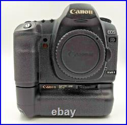 Canon EOS 5D Mark II Camera Body Only with Boxed with Canon battery grip