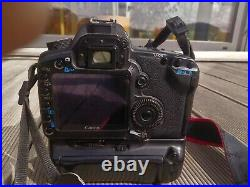 Canon EOS 5D Mark II with Canon 50mm f/1.4 USM lens and battery grip