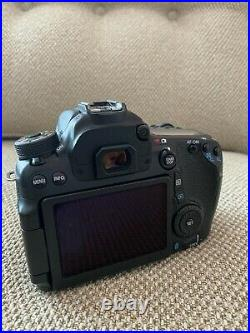 Canon EOS 70D DSLR Camera Body Only with 2 batteries and charger