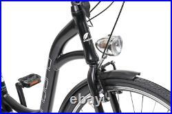 City Electric Bike, Step through, dutch style bicycle, E-City eBike 17 Frame