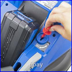 Cordless Lawnmower Roller Mulching 40V 330mm Lawn Mower Li-ion Battery & Charger