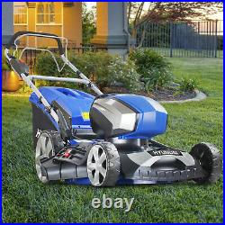 Cordless Lawnmower Self Propelled 80V Li-ion Battery Lawn Mower 17 45cmm 450mm