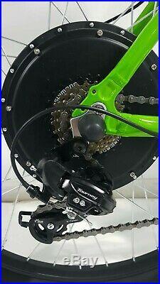 Customised Apollo Valier electric e-bike 48v 1000w, 17.5Ah Lithium30mph 27.5