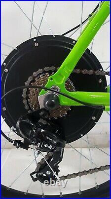 Customised Apollo Valier electric e-bike 48v 1500w, 17.5Ah Lithium35mph 27.5