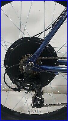 Customised Apollo electric e-bike 48v 1500w, 17.5Ah Lithium35mph 27.5