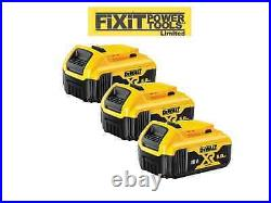 DEWALT 3 x DCB184 18V XR 5.0AH Battery Lithium Ion BRAND NEW Li-Ion Genuine