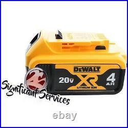 DEWALT DCD996B 20V MAX XR Brushless 4.0 Ah 3-Speed 1/2 Hammer Drill Driver Kit