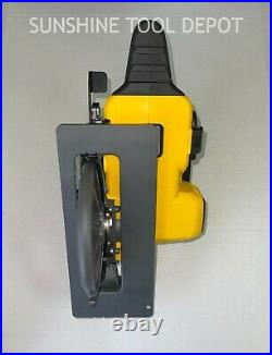 DeWALT DCS577 60V 7-1/4-Inch Worm Drive Style Circular Saw Bare Tool with Blade