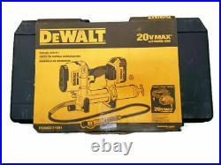 DeWalt 20V MAX Lithium Ion 4.0 Ah Cordless Grease Gun Kit DCGG571M1
