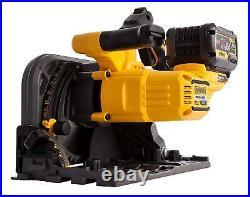 DeWalt DCS520T2-GB 54V XR FLEXVOLT 2x6.0Ah Li-ion Plunge Saw in T-STAK