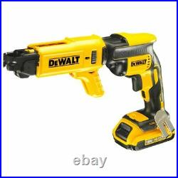 Dewalt DCF620D2K Collated Drywall Screwdriver 18V Cordless Brushless (2 x 2Ah)