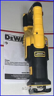 Dewalt DCS367B 20V Max XR Brushless Variable Speed Reciprocating Saw 2020 New