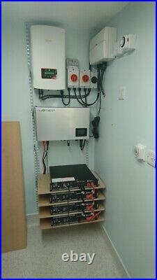 Domestic Battery backup systems from solar or cheaper night rate electricicty