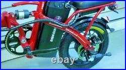 E-Bike Lithium Folding Electric Bicycle Twist & Go UK Stock RARE Model