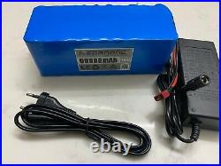 Ebike Battery Pack 36v 60ah lithium ion battery 1000w bike Scooter & charger