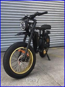 Electric Bike, The Rocket GTS Small Wheel. 350w 48v
