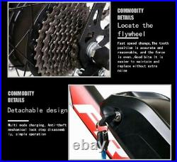 Electric Bikes Mountain Bike 26 Suspension E-Bikes UK 350W 36V Bicycle 35km/h