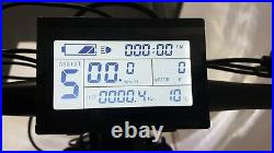 Electric Fat E-Bike Grey 26 High Power 48v 1500w 21 speed KT LCD 3 off road