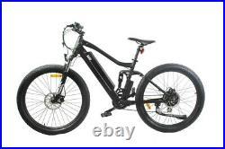 Electric Mountain Bike E-bike YVERN S36V 250W Rear Hub Motor Full Suspension