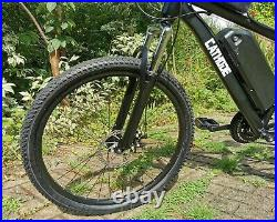 Electric Mountain Ebike 500w, 12.5Ah Lithium Battery, 26mph! CATHODE Made In UK