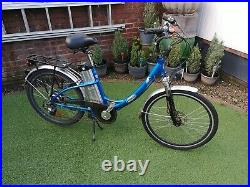Electric bicycle used