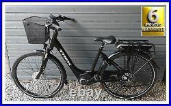 Electric bike Trek lm1+ step trough bosch e-bike 2019 Hybrid City with basket
