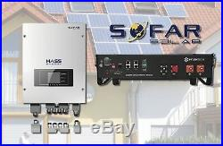 FULLY INSTALLED Sofar Solar ME3000SP Solar Battery Storage 2.4Kwh Lithium-ion
